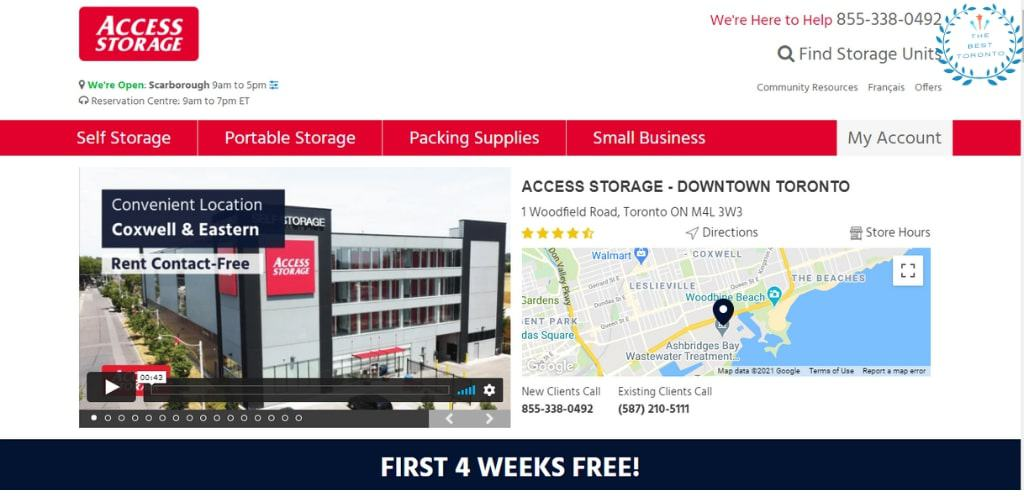 Access Storage's Homepage