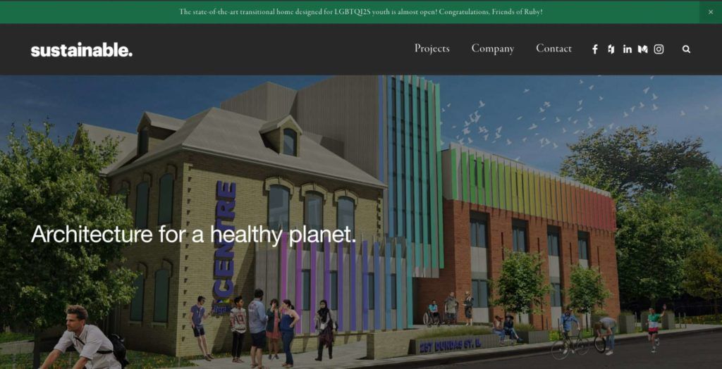 Sustainable's Homepage