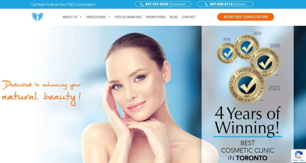 NewDermaMed Cosmetic and Advanced Laser Clinic's Homepage