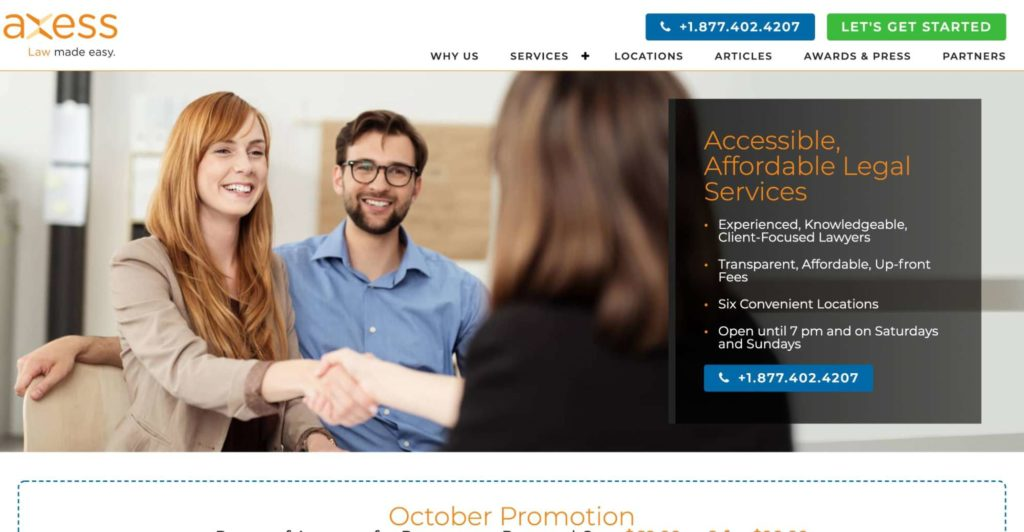 Axess Law's Homepage